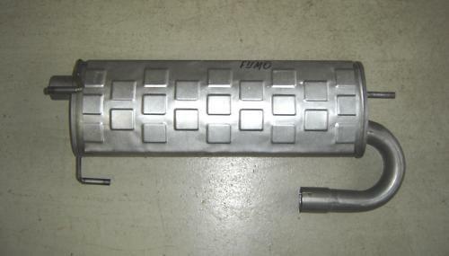 Schalldämpfer Auspuff Multicar FUMO
